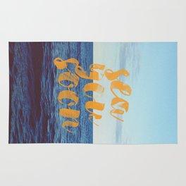 Sea You Soon Rug