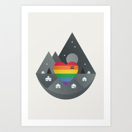 Love & Equality Art Print