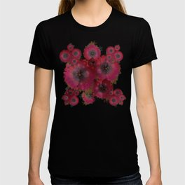 """Manila deep rose flowers"" T-shirt"