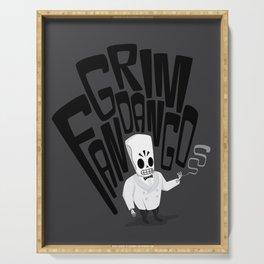 Grim Fandango Serving Tray