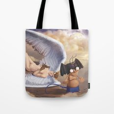 silen and devil Tote Bag