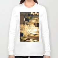 technology Long Sleeve T-shirts featuring Sunset Technology by Encore Designs