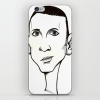 marc jacobs iPhone & iPod Skins featuring Marc Almond, Soft Cell by Mr Shins