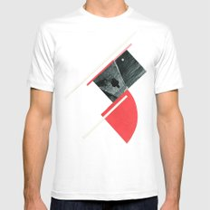 Tribute to Rodchenko White SMALL Mens Fitted Tee