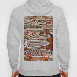 Traditional Lobster Traps Hoody
