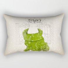 Hipster Chiuaua Rectangular Pillow