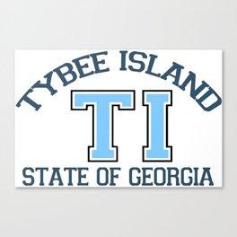 Tybee Island - Georgia. Canvas Print