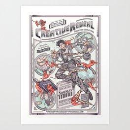 CreativeReveal - Le Designer (Standard Ver.) Art Print