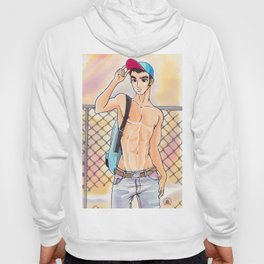 JESSee Bare Chest Hoody