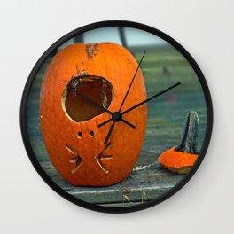 Humpty Pumpkin Wall Clock