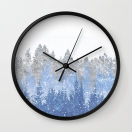 Study in Solitude Wall Clock