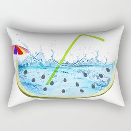 drink the summer Rectangular Pillow