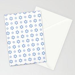 Star of David 40- Jerusalem -יְרוּשָׁלַיִם,israel,hebrew,judaism,jew,david,magen david Stationery Cards