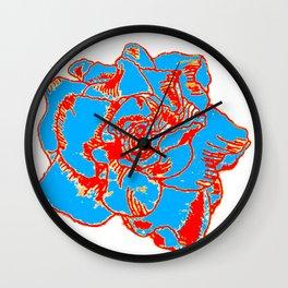 POPART Gardenia - Primaries Wall Clock