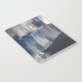 Drenched in Rain-Wrapped Shadows Notebook