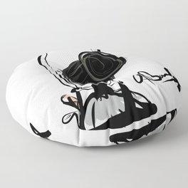 On Pointe Floor Pillow