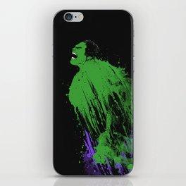 INK'credible HULK iPhone Skin