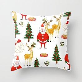 Always Christmas Throw Pillow