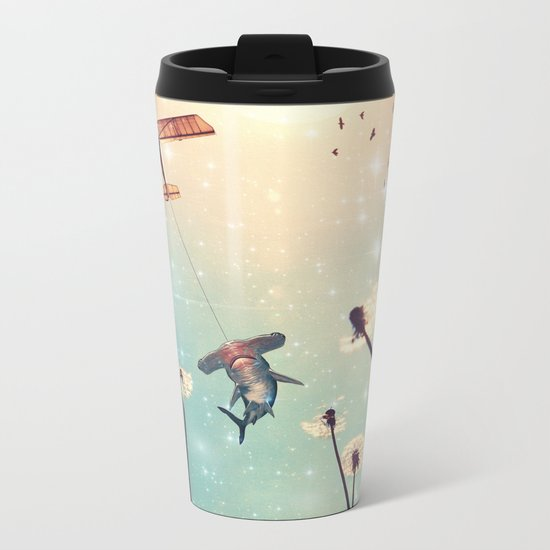 Flying Lessons Metal Travel Mug