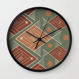 Brazilian Soil V Wall Clock