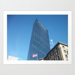 Boston Buildings Art Print
