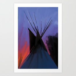 Tipi66 Art Print