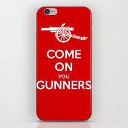 Come on You Gunners iPhone Skin
