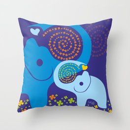 Child of good Fortune Throw Pillow