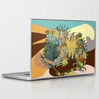 dune Laptop & iPad Skins featuring Dune by Maria Paula Quiva