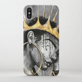 Naturally Queen X iPhone Case