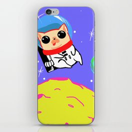 Chrissy in Space iPhone Skin