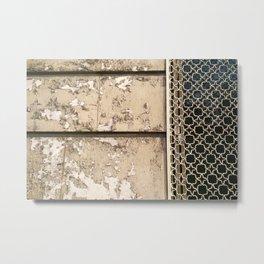Parisian Arabesque Metal Print