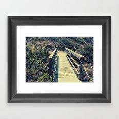 Little bridge Framed Art Print