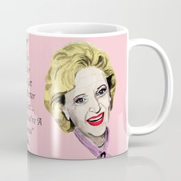 Rose Nylund from the Golden Girls (Pink) Coffee Mug