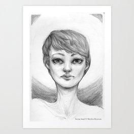 Seeing Angel Art Print