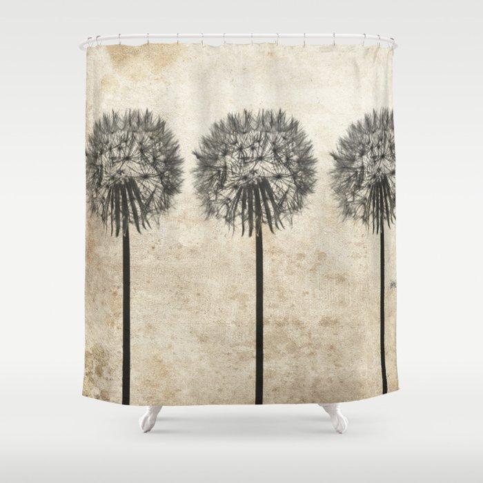 Dandelions Shower Curtain By Artdekay880