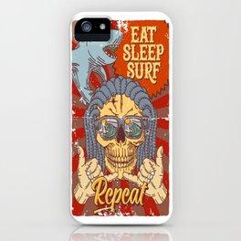 EAT SLEEP SURF - Hang Loose iPhone Case