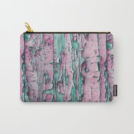 Peeled pink paint Carry-All Pouch