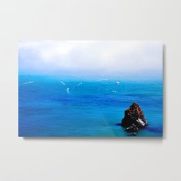 A Boaty Day Out Metal Print