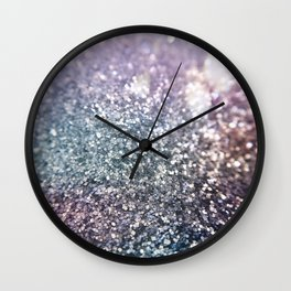 Glitter Sparkles Wall Clock
