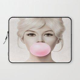 Brigitte Bardot Poster, Brigitte Bardot Bubble Gum Music Hip Hop  Laptop Sleeve