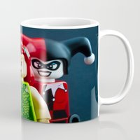 gotham Mugs featuring Gotham Girls by InkBlot