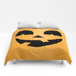 Silly Jack-O-Lantern Comforters