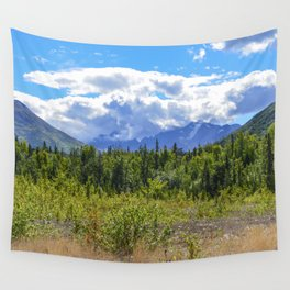 The Mountains Are Calling . . . II Wall Tapestry