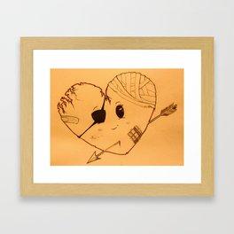 Braveheart (warm)  Framed Art Print