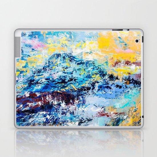 Visionary mountain Laptop & iPad Skin