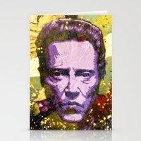 christopher walken Stationery Cards featuring Christopher Walken by Bobby Zeik
