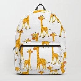 Giraffe Neck Gator Giraffes Backpack