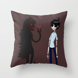 Blurry horse  Throw Pillow