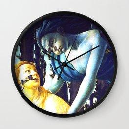"Sandro Botticelli ""Spring"" Zephyr and Chloris Wall Clock"